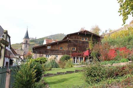 Côté terrasse - Ribeauvillé - Hytte (i sveitsisk stil)