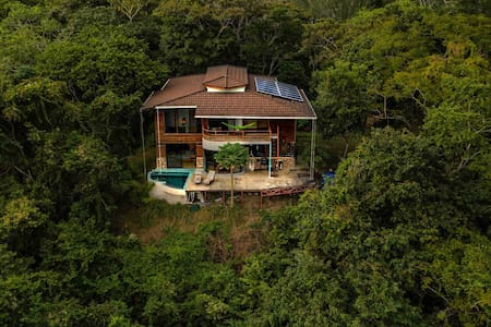 Private Home in Montezuma with Ocean & Valley View