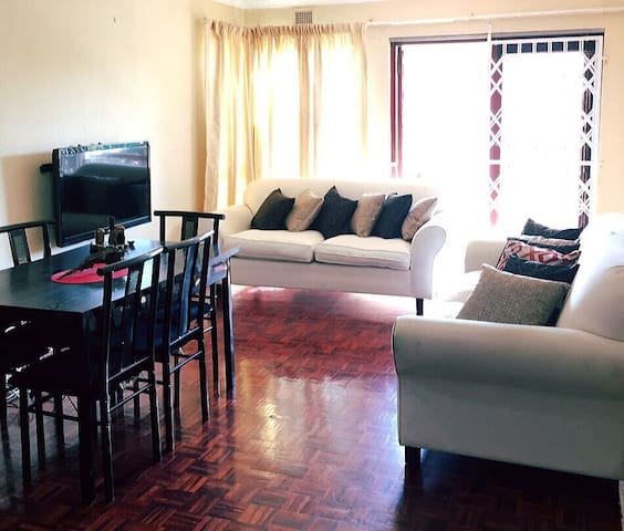 Tastefully furnished two-bedroomed apartment