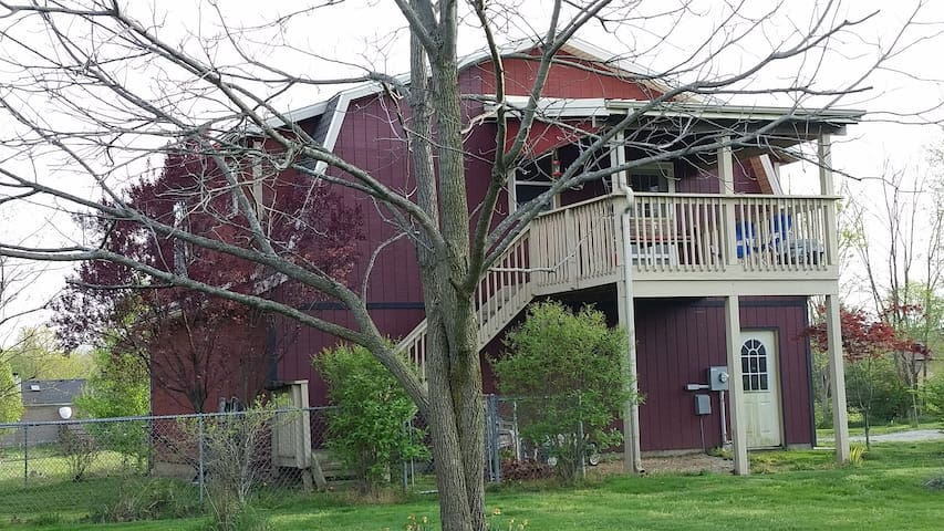 Country Cozy with a Tree House view - Springfield - Apartment