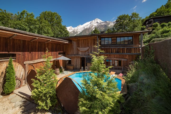 Chalet le Ranch, ski-in ski- out, hot-tub