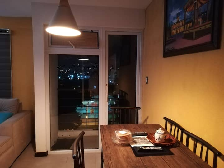 Comfy apartment Guatemala city near airport z12
