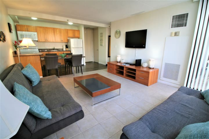 Mountain View Waikiki Sunset 1bdrm w/parking