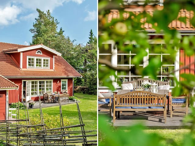 Traditional Swedish house and garden Greater Sthlm - Täby - Hus