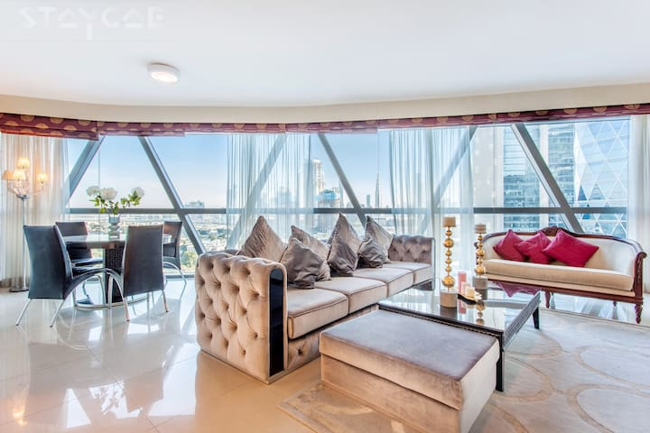 Exquisite 2 Bedroom with Amazing Park View DIFC