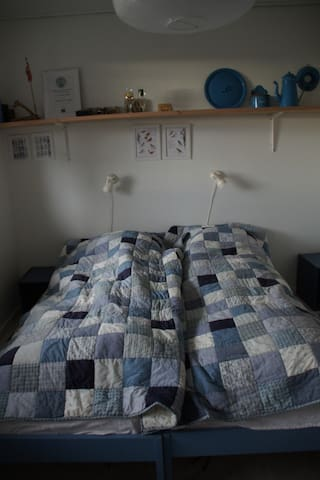 Soveværelse i stueetagen