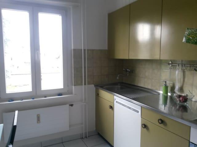 Zimmer für 1-2 Personen/Kleinfamilie - Arbon - Leilighet