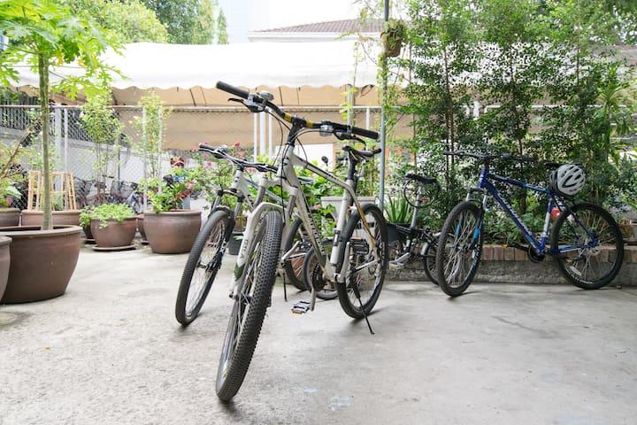 3 Tropical Villa/Center/Dbl Rm+Bike/Digital Nomads - Bangkok - Villa