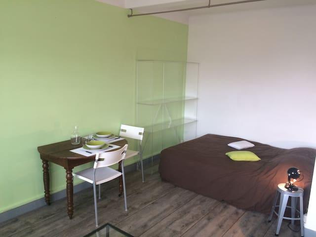 Charmant studio Cité Tirlet - シャロン・アン・シャンパーニュ - アパート