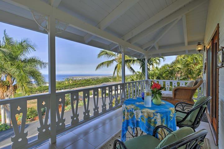 Sunny Kailua-Kona Studio w/Large Oceanview Balcony
