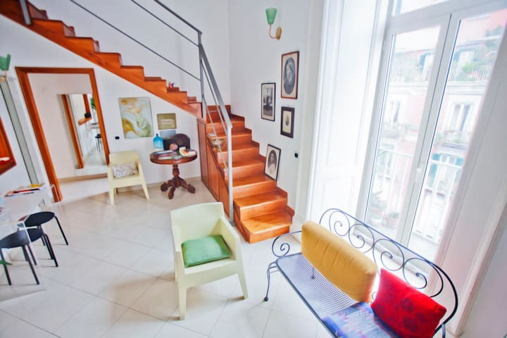 Bright house in the center of Naples - Napoli - Appartement
