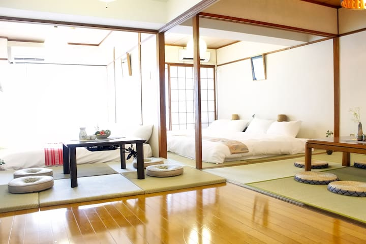 Up to 14p 1 min Peace Park, Wonderful huge house ! - Hiroshima-shi - Apartment