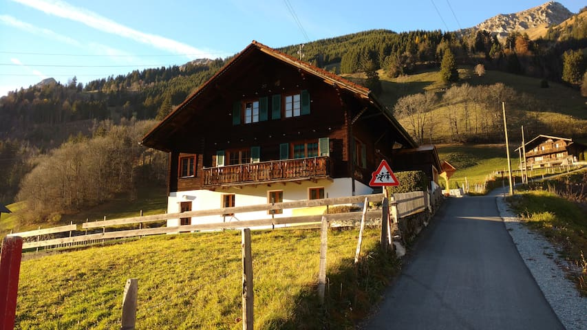 Cozy chalet in the heart of Gruyere - Jaun - Alpstuga