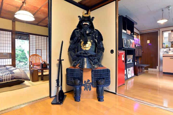 Tokyo suburbs.Charm Japanese house - Oume - House