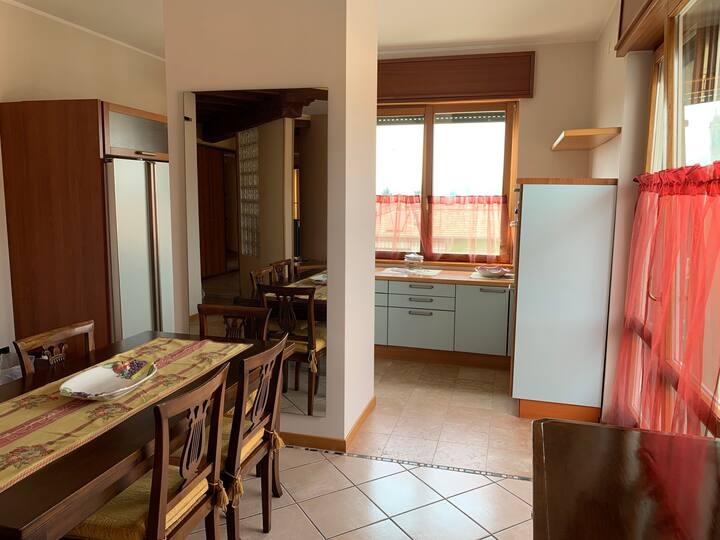 Ampio appartamento a 5 min. dal centro di Bergamo