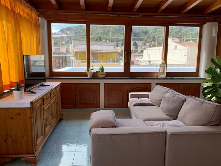 Centro storico appartamento con terrazza Casa Luna