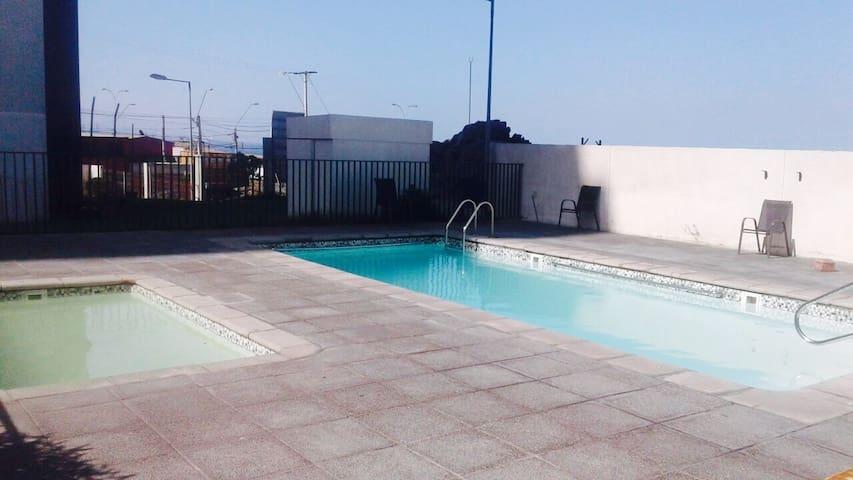 Apartment, fully equipped, Seaview, Antofagasta. - Antofagasta - Appartement