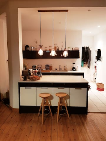 Comfortable, warm apartment in the heart of Berlin