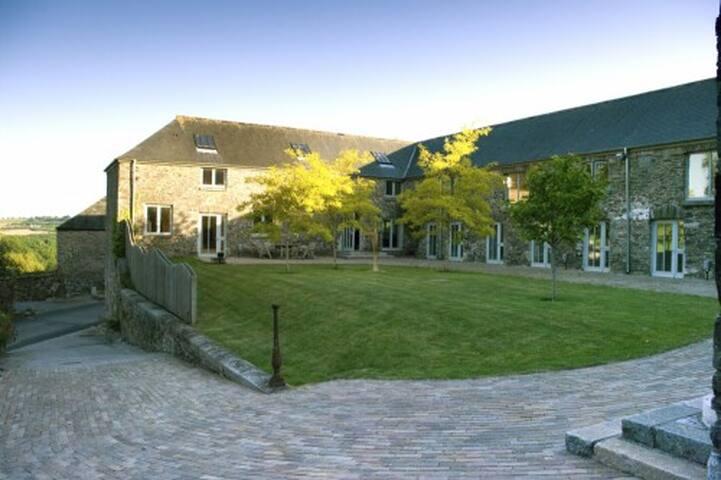 Devon estate in a stunning setting