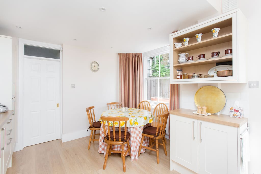 Dining Table with space for 5