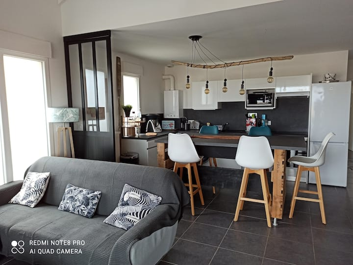 Appartement neuf vue océan,  3 chambres 65 m2