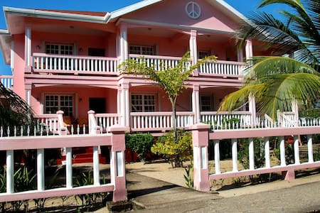 Ocean view 'studio apt' bicycle rental included-MM - Placencia