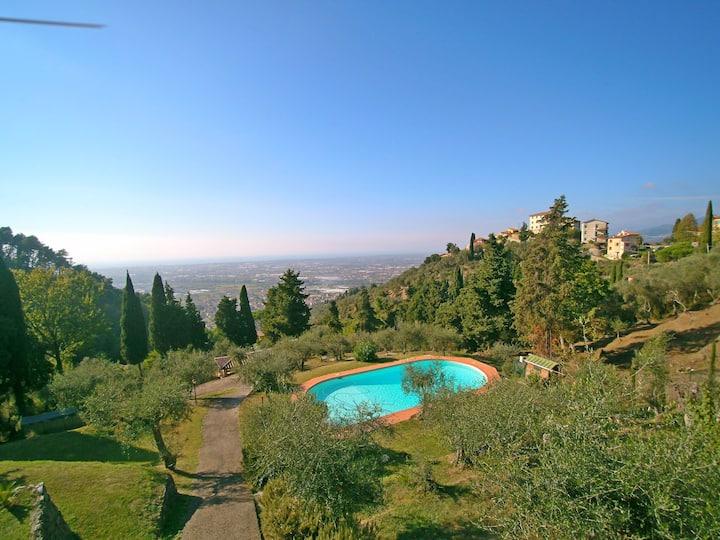 Il Frantoio - Vista mare, piscina, 9 Persone, Uliveto, Relax puro