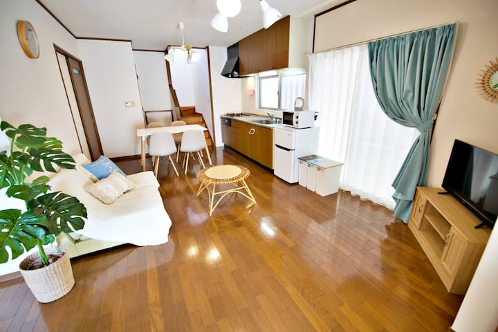 New!Whole house☆Max12ppl! Free Parking&WIFI☆ MK177