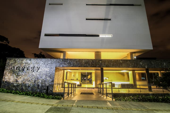 ★1502 Floo★Coolest building Medellin★RoofTop Pool★