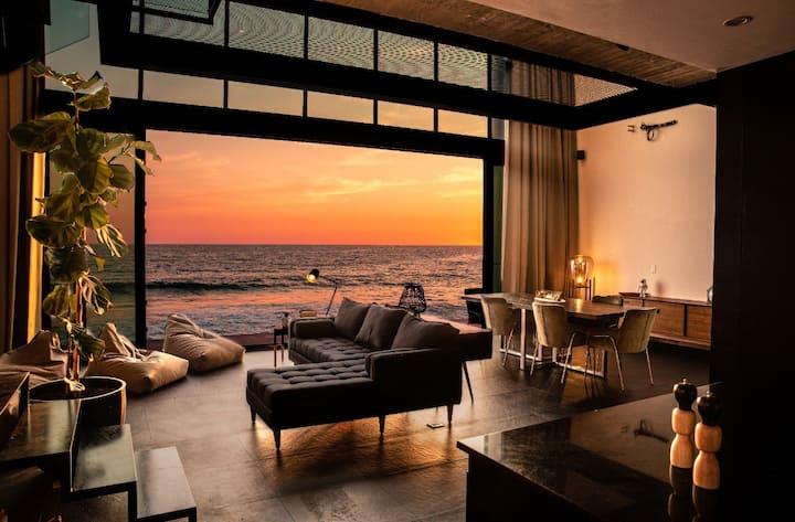 Increíble Casa de Playa, Moderna con mucho