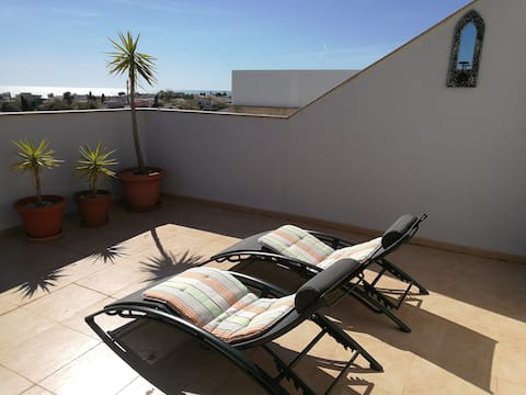 Duplex in Vinaros for 6 people with sea view