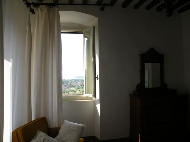 Vista camera isola Maggiore