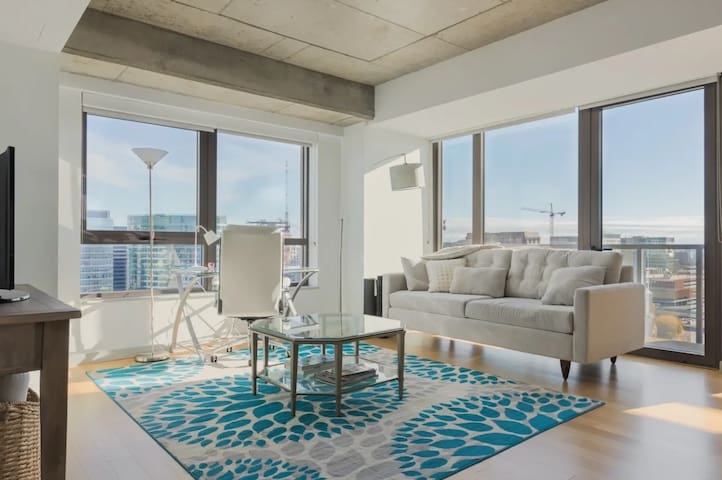 Seaport apartment with beautiful views
