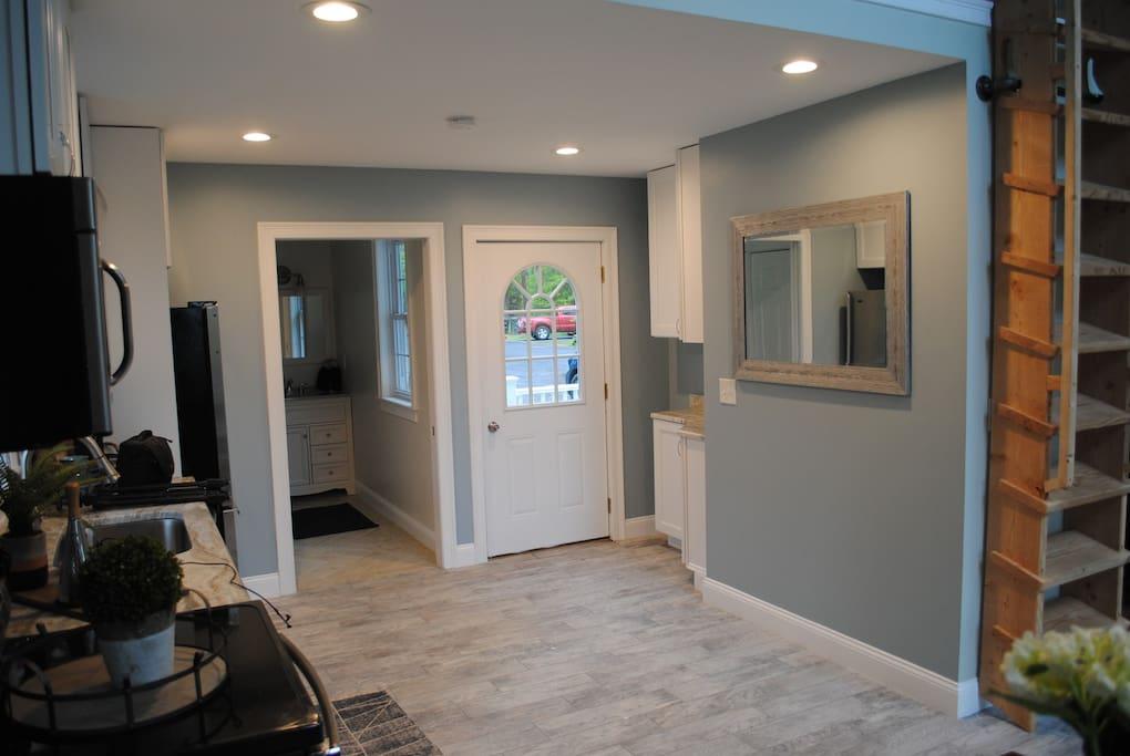 Kitchen & entryway