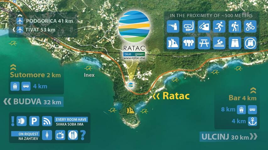 MAP OF RATAC