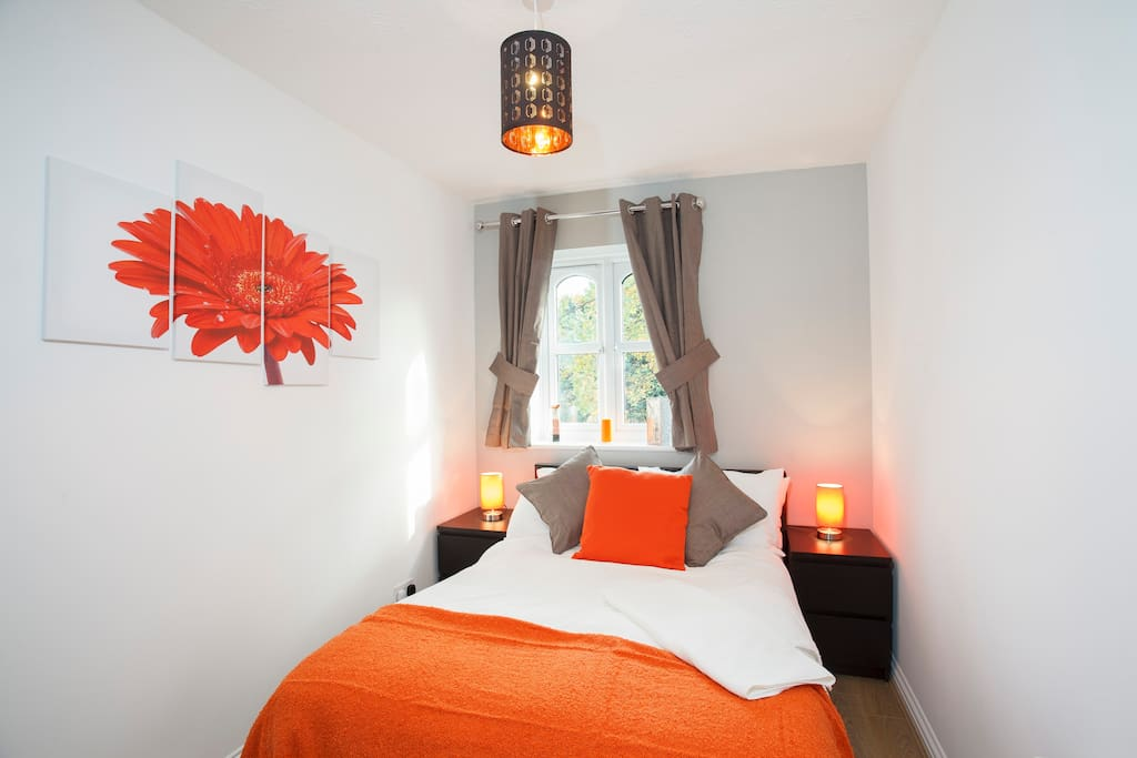 Bedroom 2. A large double room that will give you comfort during your stay