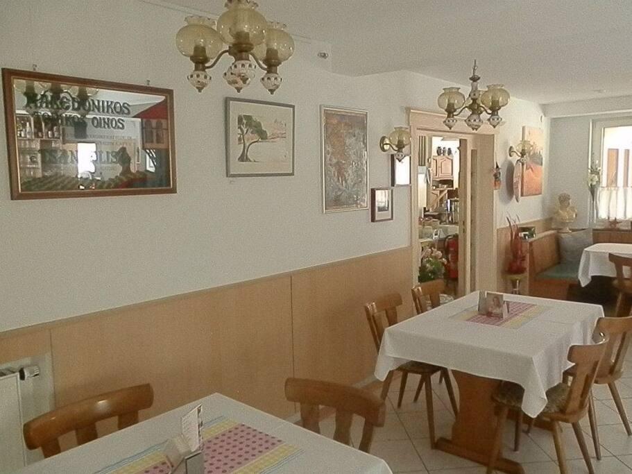 Gaststätte/Frühstücksraum