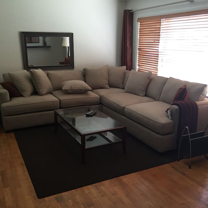 New 2016 giant deep sectional
