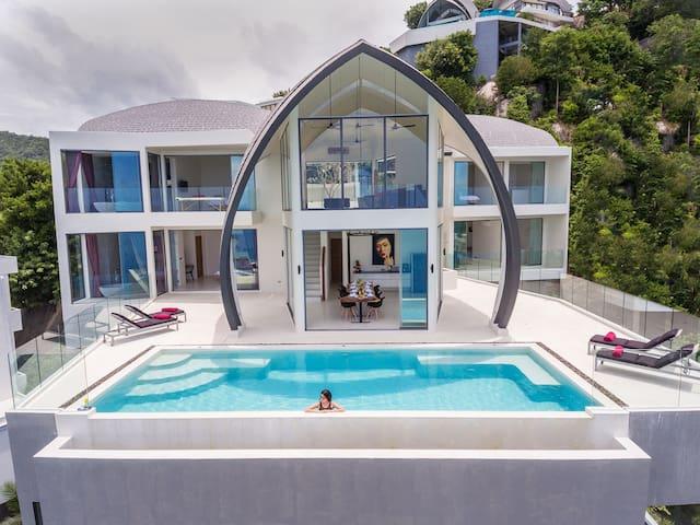 Luxury Sky Dream Villa with panoramic Sea View - Ko Samui - Villa