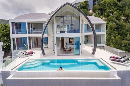 Luxury Sky Dream Villa with panoramic Sea View - Ko Samui - Villa