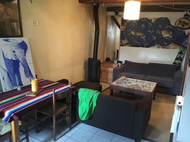 Maison de village - Saint crepin - Casa