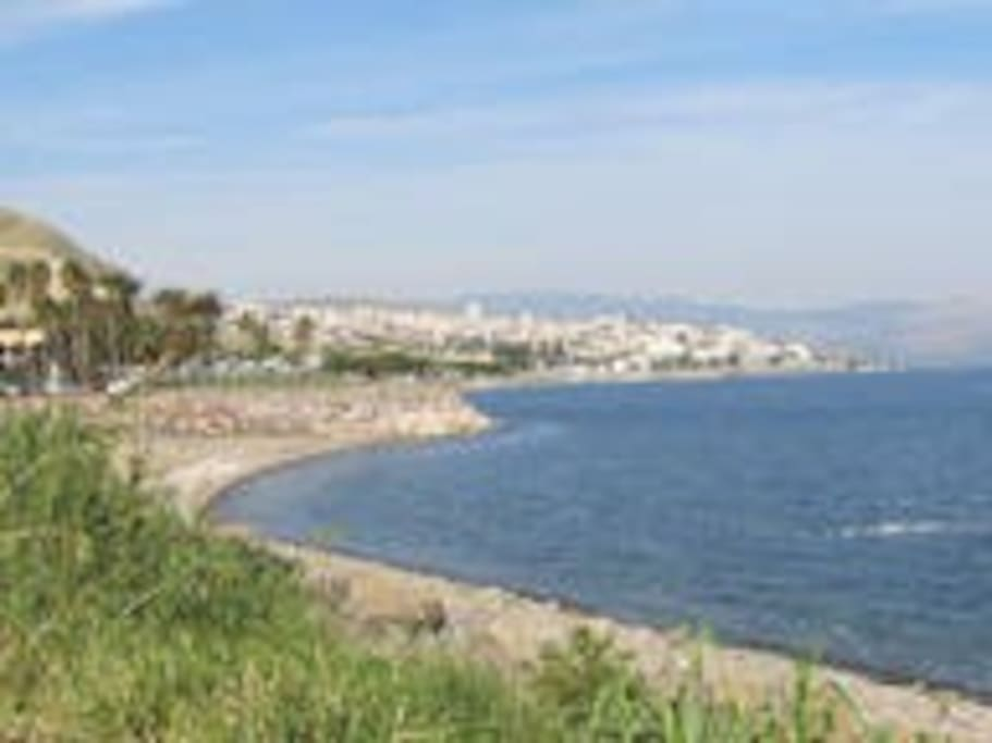 Ancient city of Tiberias-by The Sea of Galilee(The Kinnereth)