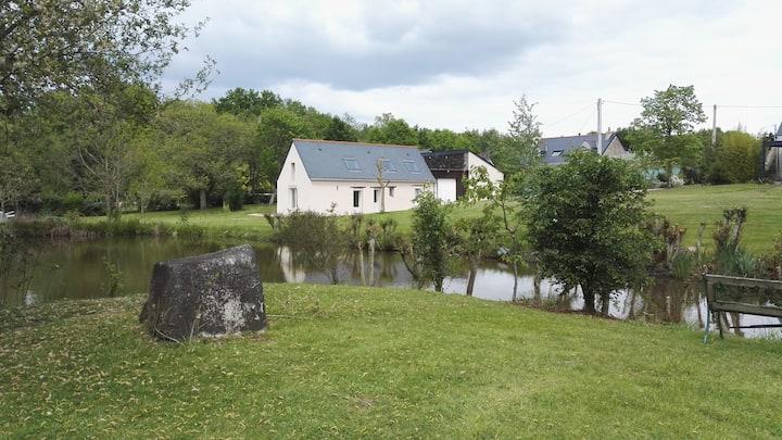 Maison 60 m² en campagne à St Sylvain d'Anjou (49)