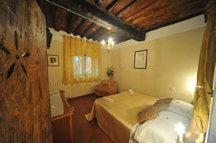 romantic room in ancient Villa
