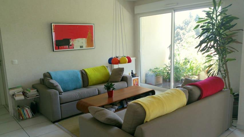 Appart avec chambre tout confort près de Genève - Ferney-Voltaire - Appartement