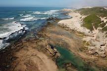 Gorgeous rock pools to visit