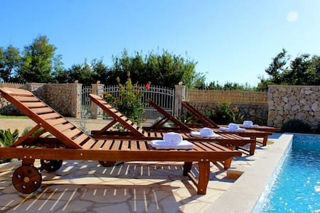Villa with pool,for 2-8 person - Privlaka - Villa