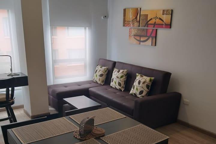 Lindo y agradable apartamento en Bogotá!