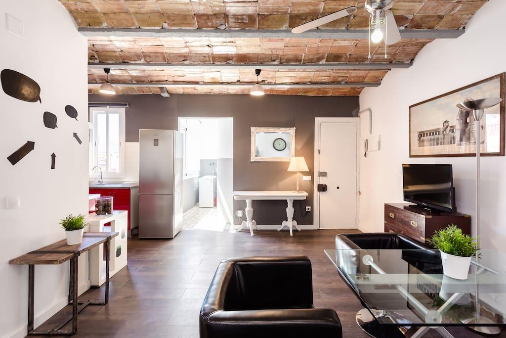 Precioso Piso De Dise O Cerca Del Camp Nou Apartamentos