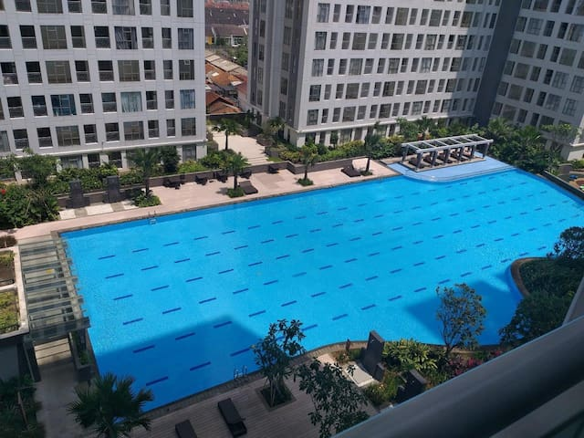 2 bedroom apartment walking - mall fully furnished